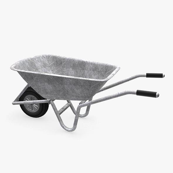 Wheelbarrow - 3DOcean Item for Sale