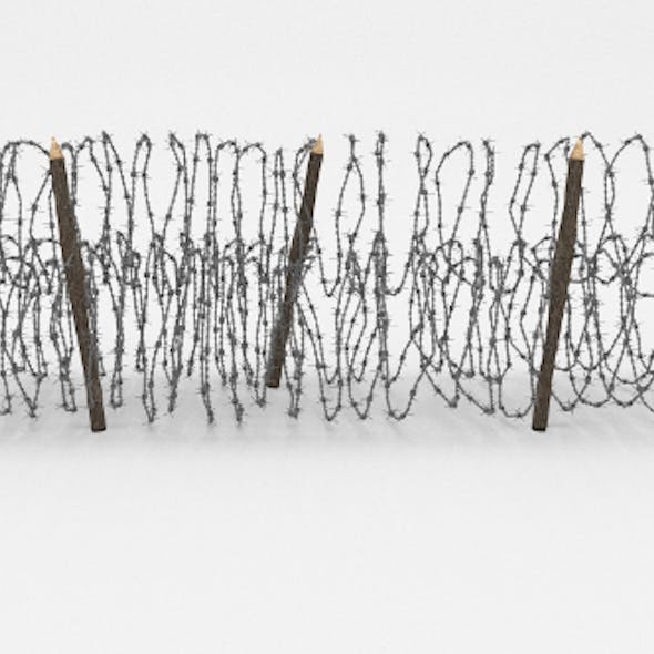Barb Wire Obstacle 13