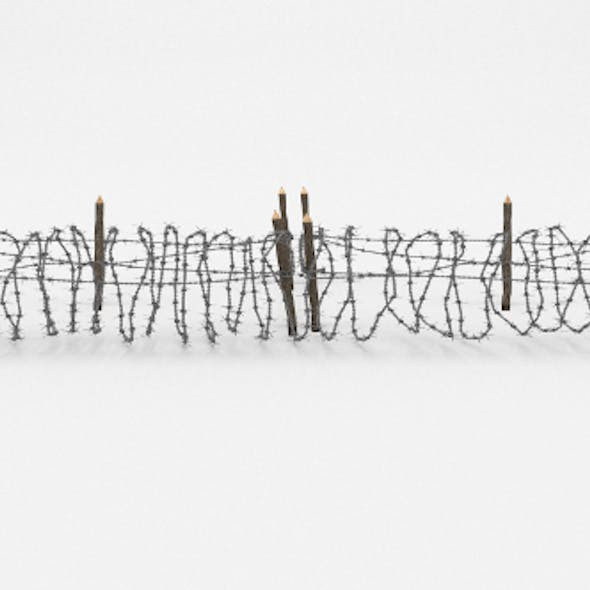 Barb Wire Obstacle 19