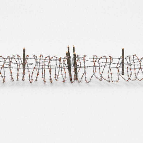 Barb Wire Obstacle 20