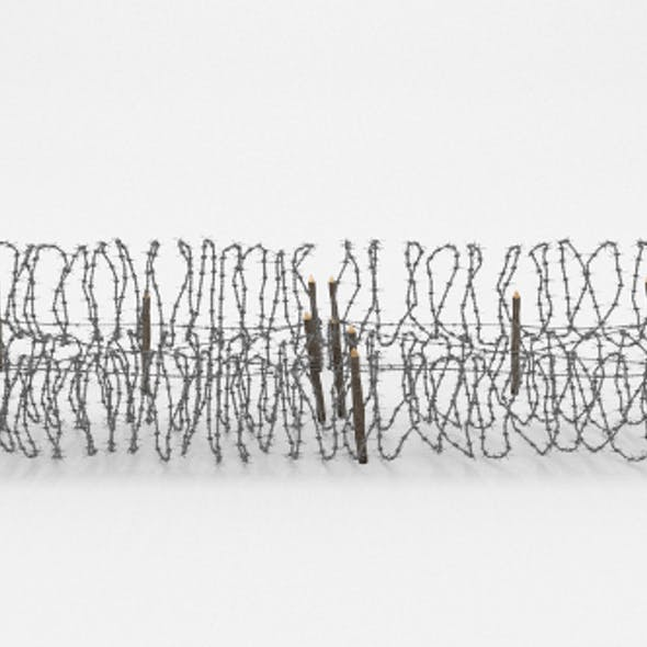 Barb Wire Obstacle 23