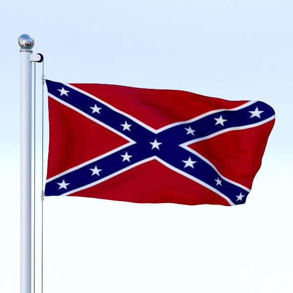 Animated Confederate Flag