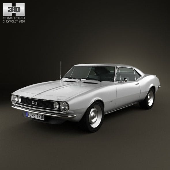 Chevrolet Camaro SS 1967 - 3DOcean Item for Sale