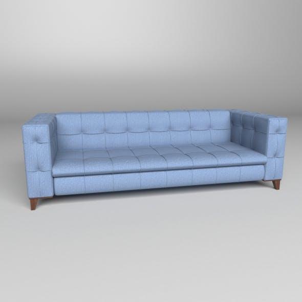 Decorative Armchair 1 - 3DOcean Item for Sale
