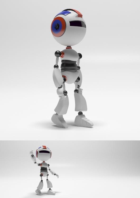 Mini Robot - 3DOcean Item for Sale