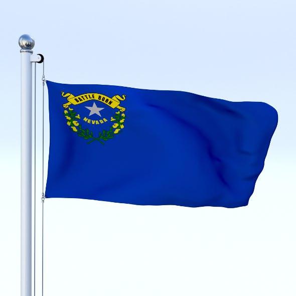 Animated Nevada Flag