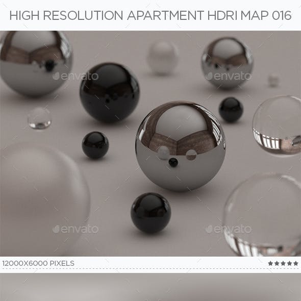High Resolution Apartment HDRi Map 016