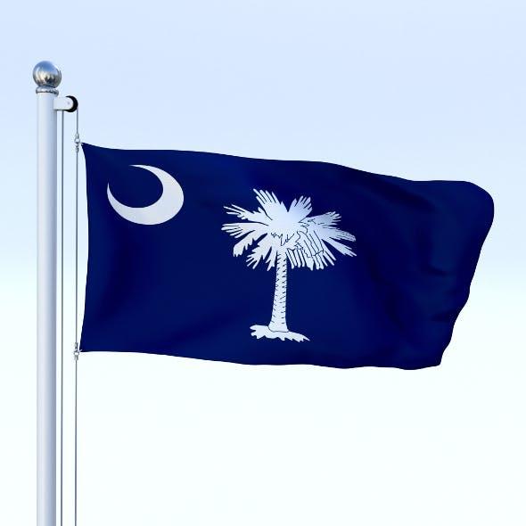 Animated South Carolina Flag