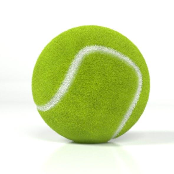 Realistic Tennis Ball