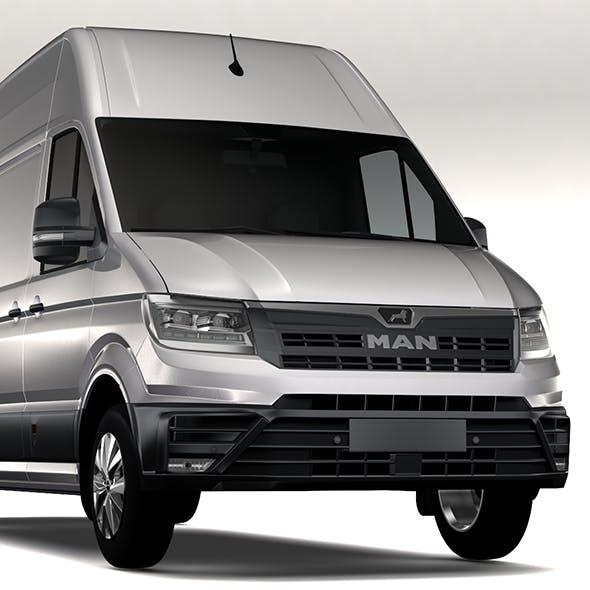 MAN TGE Van L4H3 2017 - 3DOcean Item for Sale