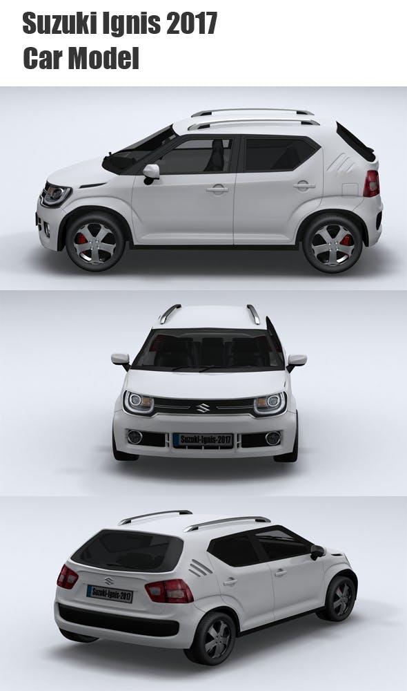 Suzuki Ignis(2017) - 3DOcean Item for Sale