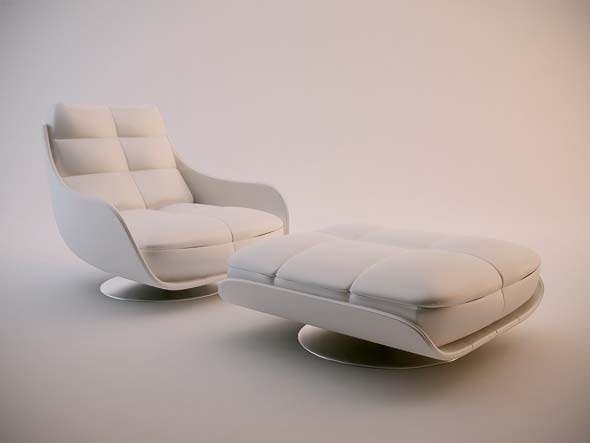 Chateau Dax Poltrone Relax.Chateau D Ax Ginga Chair By Adamjensen 3docean
