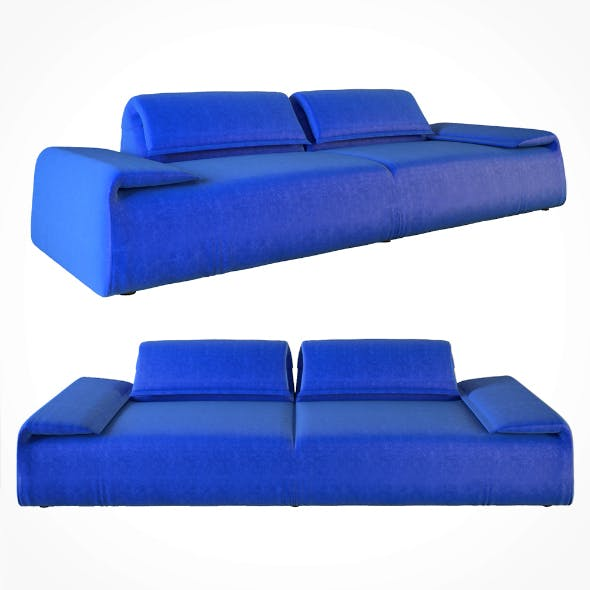 Moroso sofa - 3DOcean Item for Sale