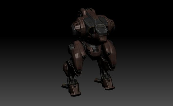 "War Robots ""Jasse James"" - 3DOcean Item for Sale"
