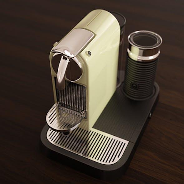 3D Model Citiz 'n Milk Espresso Maker Model