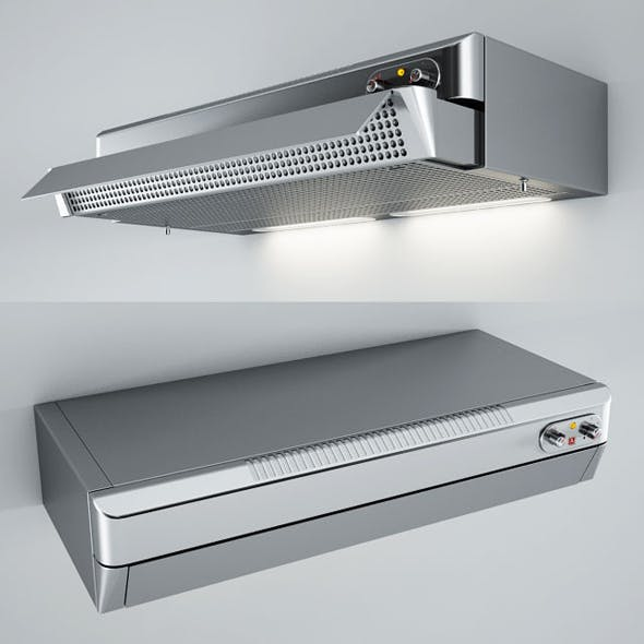 Alpes Inox Extendable Filter Kitchen Hoods CFE