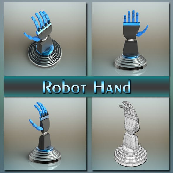 Robot Hand - 3DOcean Item for Sale