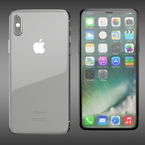 iPhone 8 - 3DOcean Item for Sale