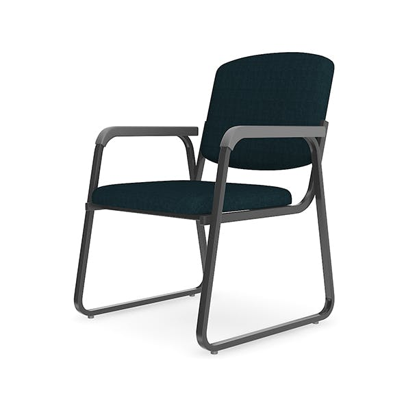 Black Office Chair - 3DOcean Item for Sale