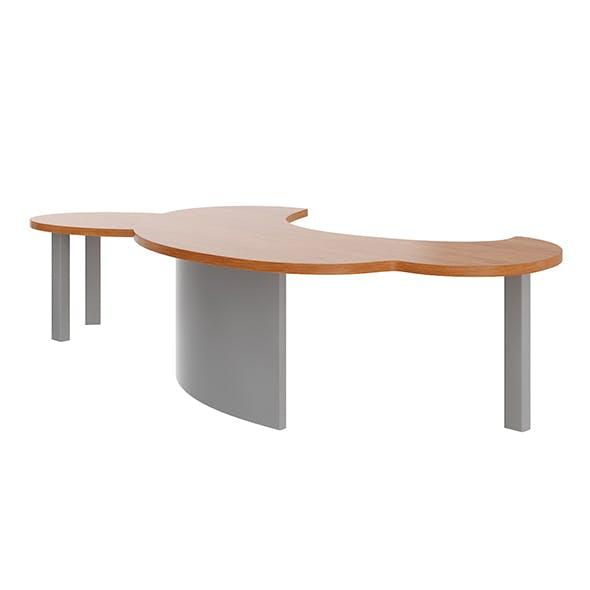 Large Office Desk - 3DOcean Item for Sale
