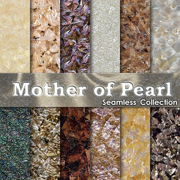 Mother of Pearl - 3DOcean Item for Sale