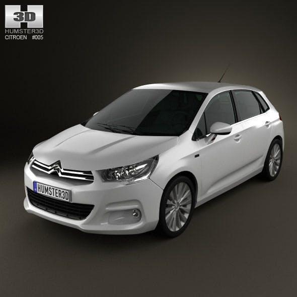 Citroen C4 2011 - 3DOcean Item for Sale