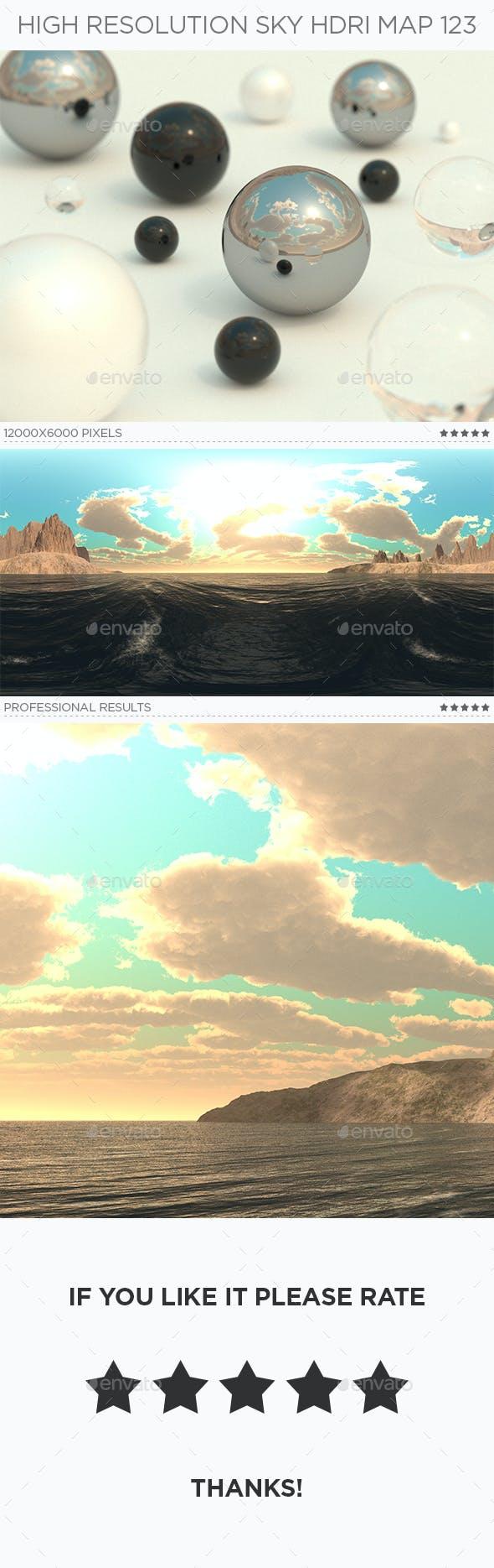 High Resolution Sky HDRi Map 123 - 3DOcean Item for Sale