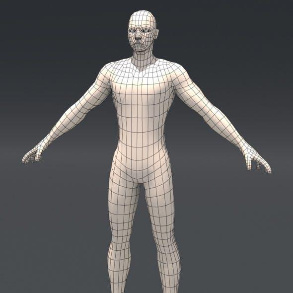 Base Human mesh