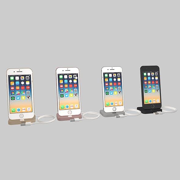 Apple iPhone 7 3d Model - 3DOcean Item for Sale