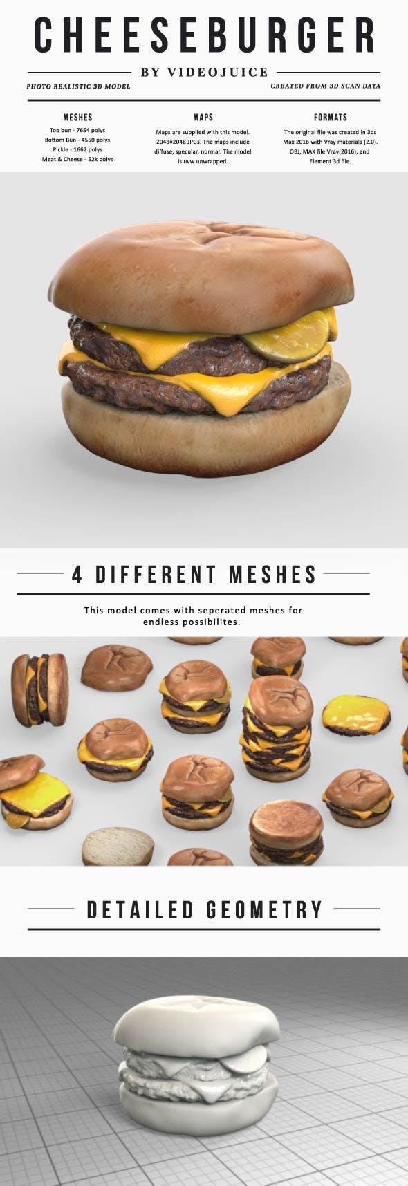Cheeseburger - 3DOcean Item for Sale