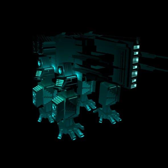 Robot fox - 3DOcean Item for Sale