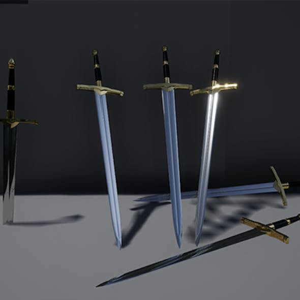 Game ready - Medieval sword