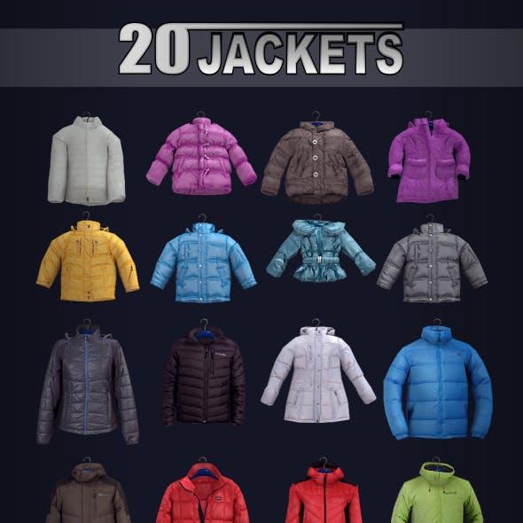 20 jackets