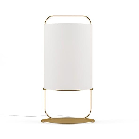Large Round Floor Lamp - 3DOcean Item for Sale
