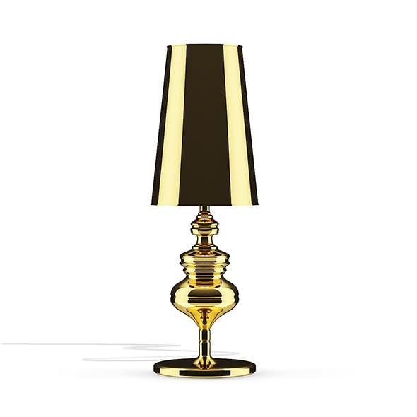 Golden Desk Lamp