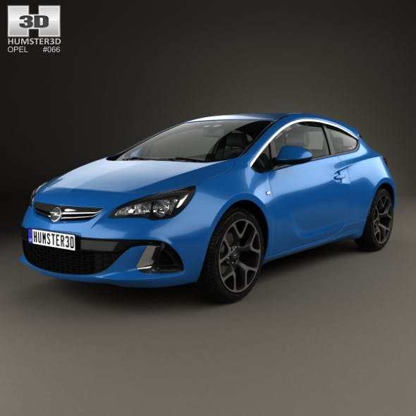 Opel Astra J OPC 2011 - 3DOcean Item for Sale