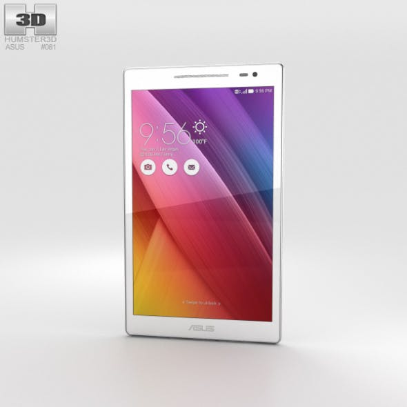 Asus ZenPad 8.0 (Z380C) White - 3DOcean Item for Sale