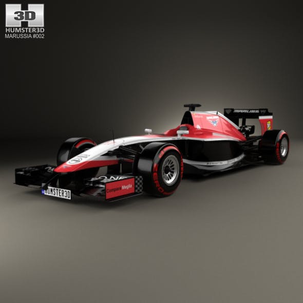 Marussia MR03 2014 - 3DOcean Item for Sale