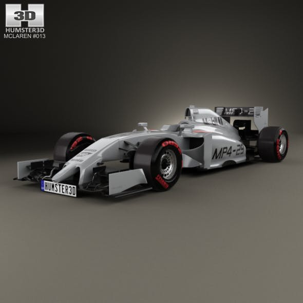 McLaren MP4-29 2014 - 3DOcean Item for Sale