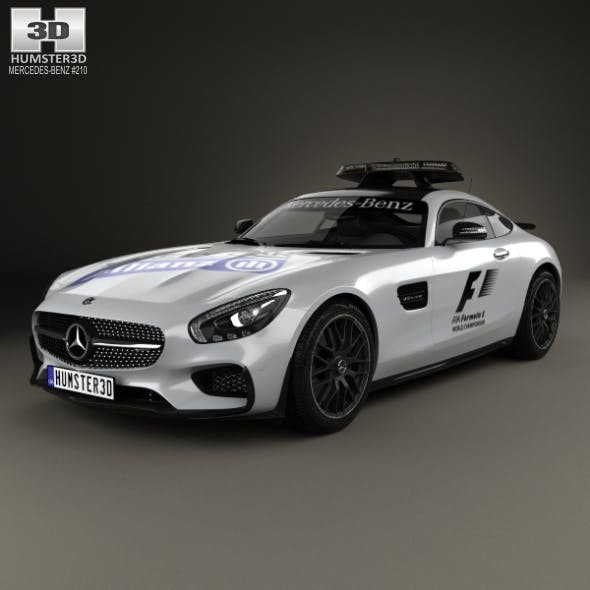Mercedes-Benz AMG GT S F1 Safety Car 2015