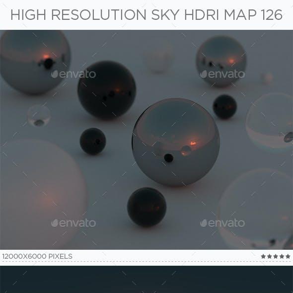 High Resolution Sky HDRi Map 126