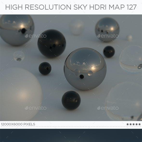 High Resolution Sky HDRi Map 127