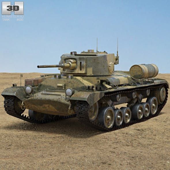 Valentine Mk III - 3DOcean Item for Sale