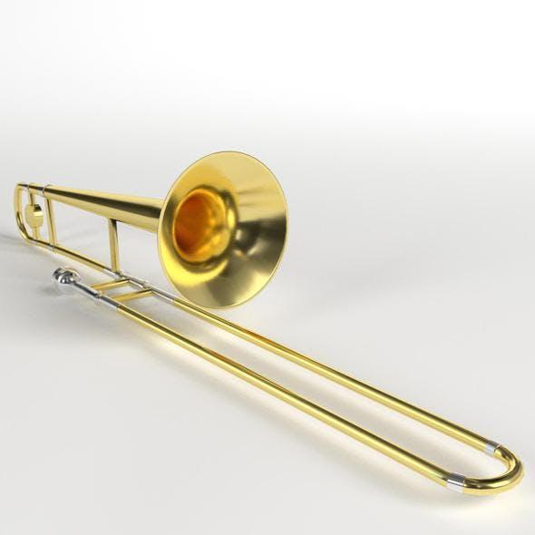 Trombone - 3DOcean Item for Sale