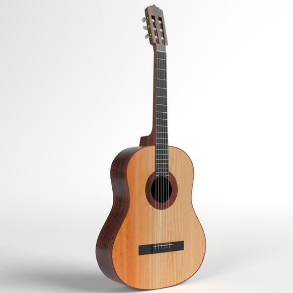 Student Classical Guitar - 3DOcean Item for Sale