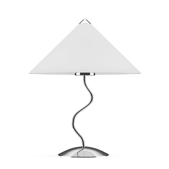 Chromed Desk Lamp - 3DOcean Item for Sale