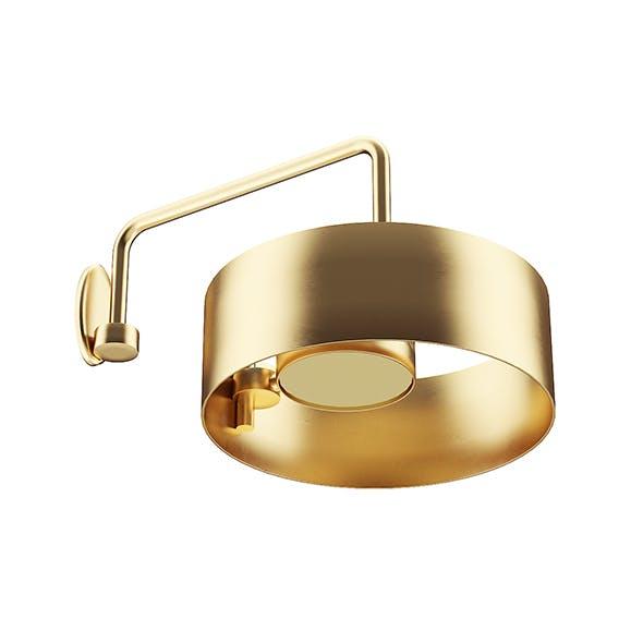 Golden Metal Wall Lamp