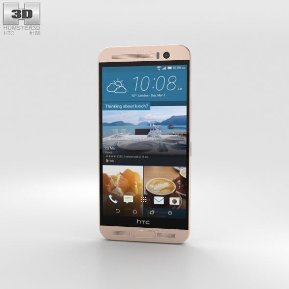 HTC One ME Rose Gold - 3DOcean Item for Sale
