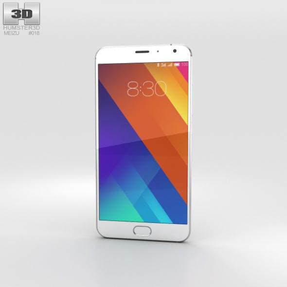 Meizu MX5 Silver - 3DOcean Item for Sale