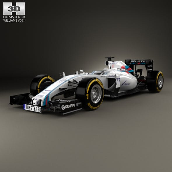 Williams FW37 2015 - 3DOcean Item for Sale